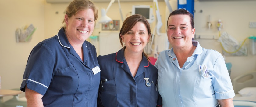Nurses on Ward 16