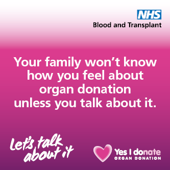 Organ Donation - Let's talk about it