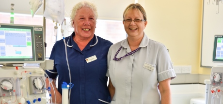 Renal staff in the RSH Renal Unit