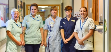 Stroke and Rehab ward nurses