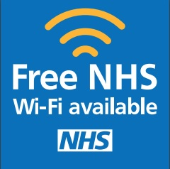 Image result for NHS FREE WIFI AVAILABLE