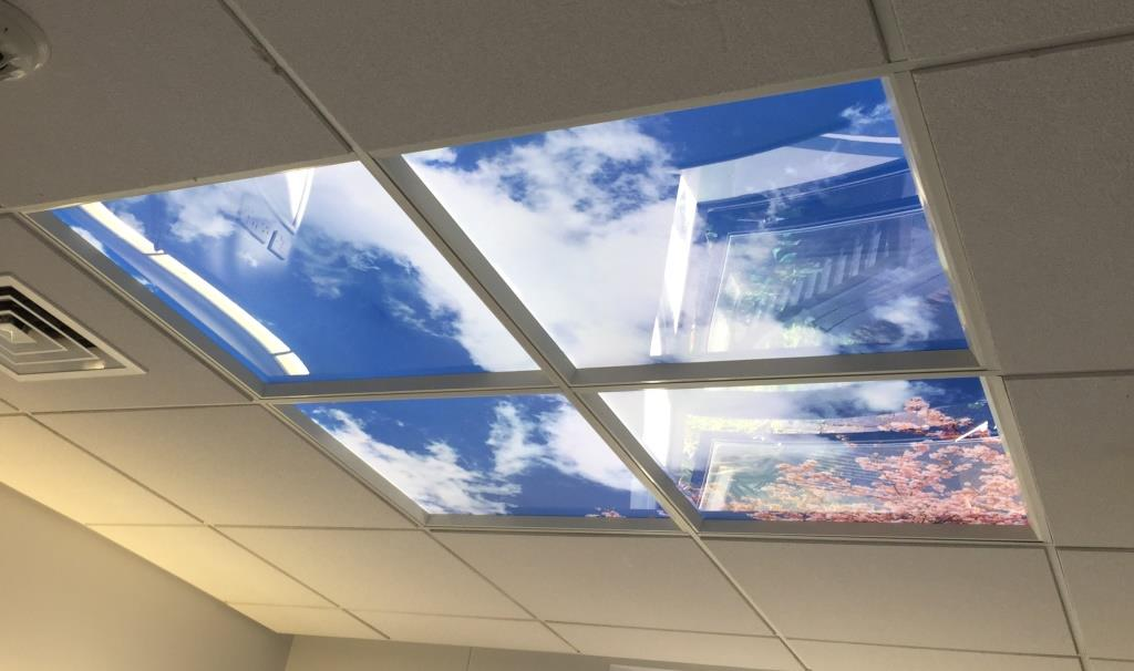 Stunning Sky Ceilings To Help Improve Patient Experience Sath